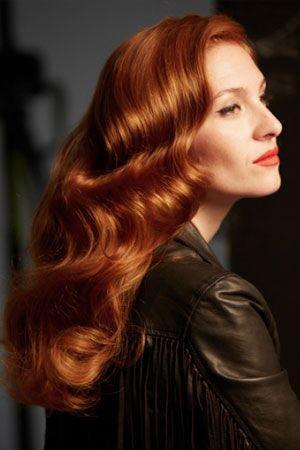 Copper hair colour for spring, Esente Hair Salon in Wimbledon