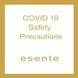 COVID 19 Safety Precautions ESENTE Hair Salon in Wimbledon