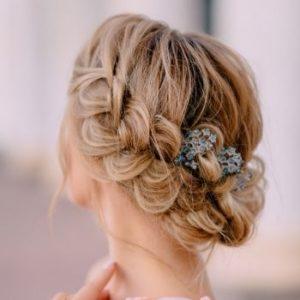 Plaited Bridal Hairstyles 1